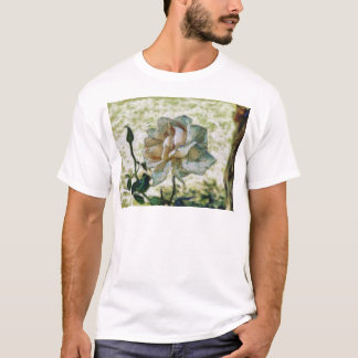 White discolored rose T-Shirt