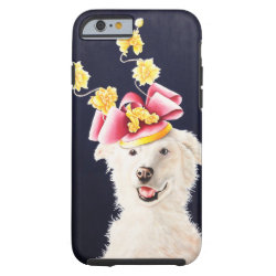 White Dog American Eskimo Samoyed IPhone 6 Cover