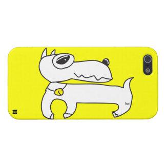 White Dog iPhone 5 Case