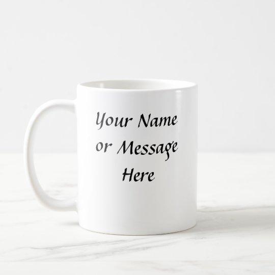 White Dog - Mug  (Personalized or Customized)