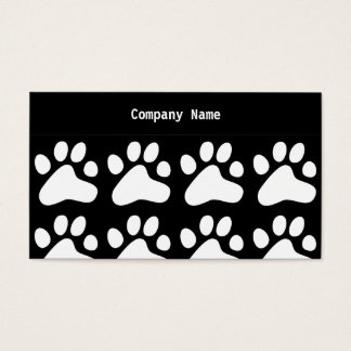 White Dog Paws, Company Name Business Card