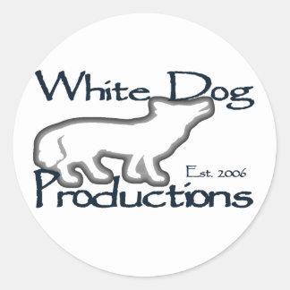 White Dog - Stickers