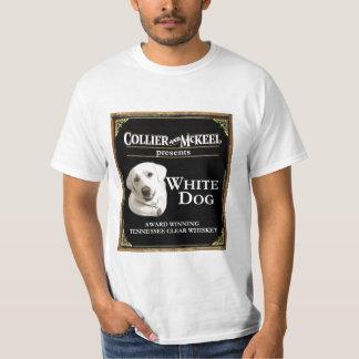 White Dog Value t-shirt