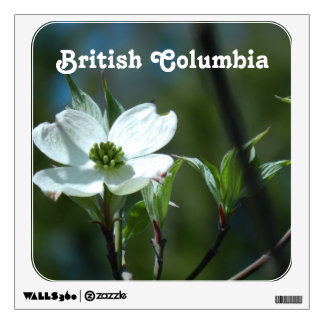 White Dogwood Wall Graphic