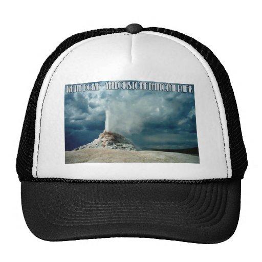 White Dome Geyser Trucker Hat
