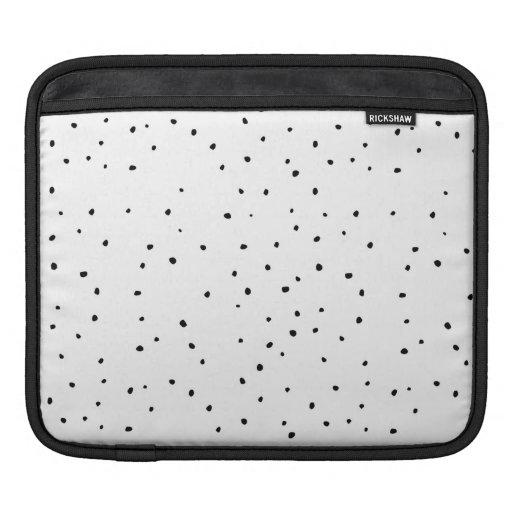 White Dots MacBook Air Sleeve