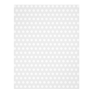 White Dots on Pale Gray Letterhead