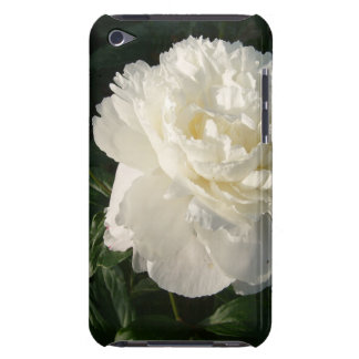 White Double Peonies iTouch Case Barely There iPod Case