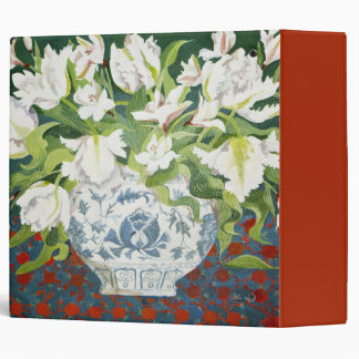 White double tulips and alstroemerias 2013 binder