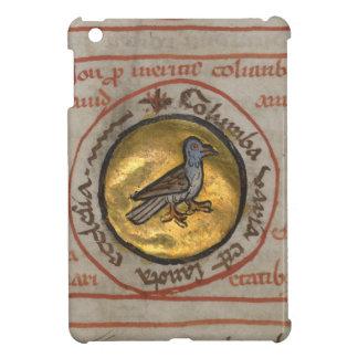 White Dove in a Gold Medallion iPad Mini Covers