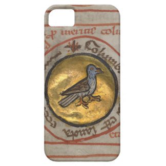 White Dove in a Gold Medallion iPhone SE/5/5s Case