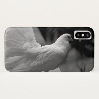 White dove... iPhone x case