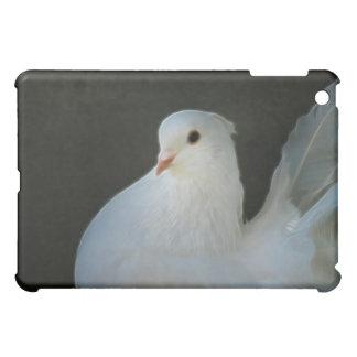White dove peace symbol iPad mini cases