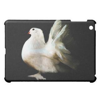 White dove peace symbol iPad mini cover