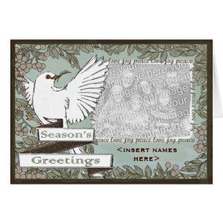 "White Dove Season""s Greetings Card"