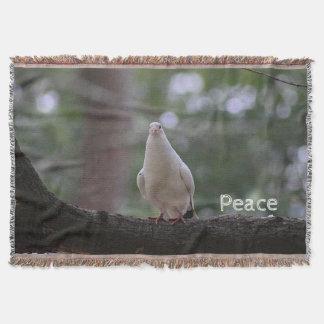 White Dove Throw