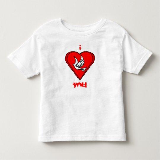 White Dove Toddler T-shirt