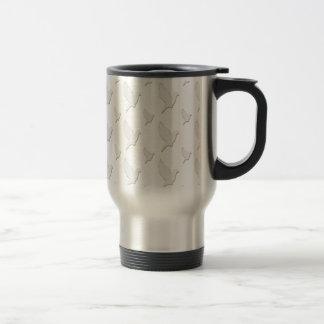 White Dove Travel Mug