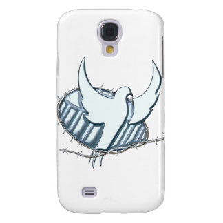 White dove w/ crown of thorns samsung galaxy s4 cover
