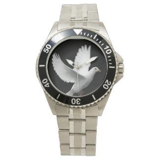 White Dove Wrist Watch