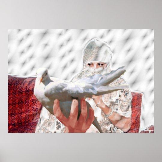 white dove's dream poster
