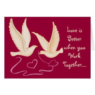 White Doves - Love is Better.... Cards