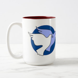 white doves mug-- Wedding mugs