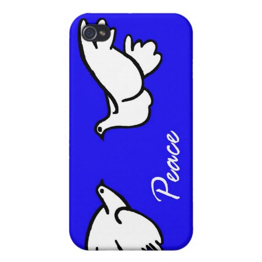 White Doves of Peace iPhone 4/4S Cases