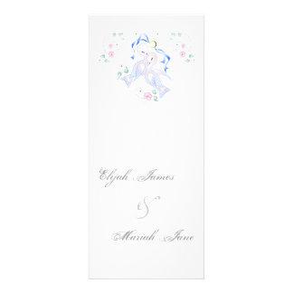 White Doves & Ring Wedding Invitation Cards