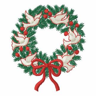 White Doves Wreath