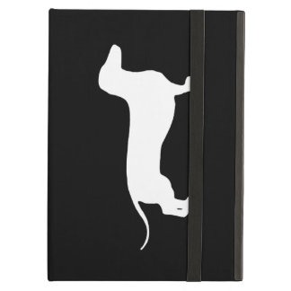 White Doxie iPad Air Covers