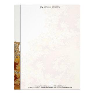 White Dragon - Fractal Art Letterhead