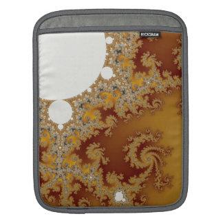 White Dragon - Fractal Art Sleeve For iPads