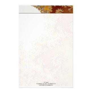 White Dragon - Fractal Art Stationery