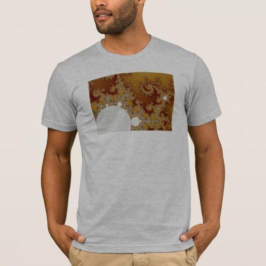 White Dragon - Fractal Art T-Shirt