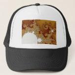 White Dragon - Fractal Art Trucker Hat