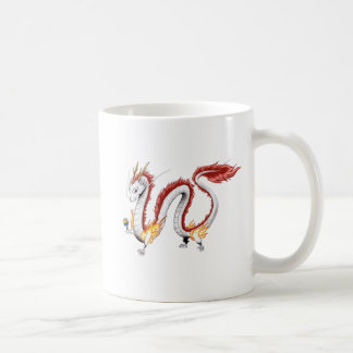 White Dragon - Mug- Coffee Mug