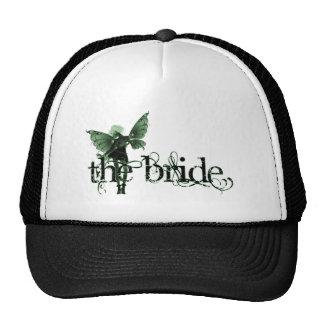 White Dress Fairy Green Negative - The Bride Trucker Hat