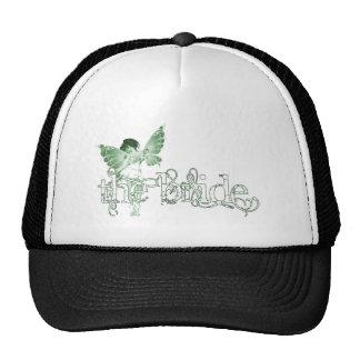 White Dress Fairy Green - The Bride Trucker Hat