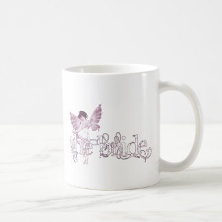 White Dress Fairy Pink - The Bride Coffee Mug