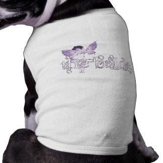 White Dress Fairy Purple - The Bride Pet T-shirt