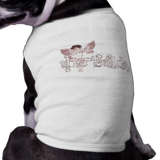 White Dress Fairy Red - The Bride Pet T Shirt