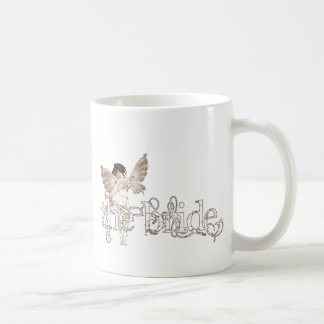 White Dress Fairy Sepia - The Bride Coffee Mug