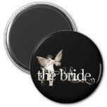 White Dress Fairy Sepia - The Bride Magnet