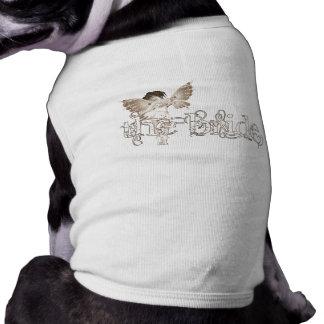 White Dress Fairy Sepia - The Bride Pet Shirt