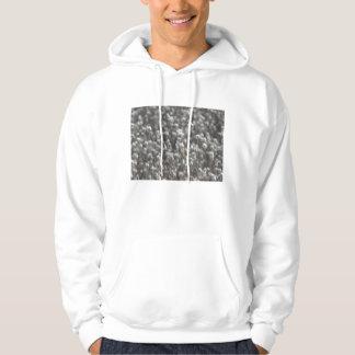 White Dried WildFlowers Hoodie