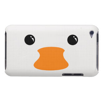 White Duck Cute Animal Face Design Case-Mate iPod Touch Case