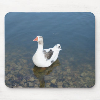 White Duck Mouse Pad