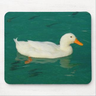 White Duck Mousepad