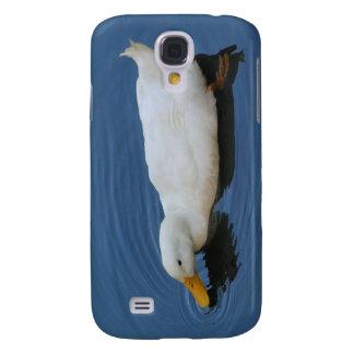 White Duck Samsung Galaxy S4 Cover